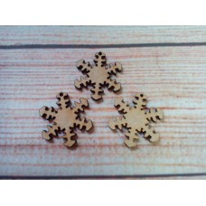Mini Snowflakes Laser cut PK15